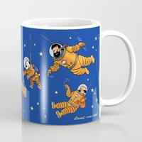 tintin Mugs featuring Expédition Lunaire by Yves Rodier