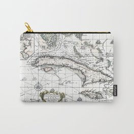 The island of Cuba - 1762 Carry-All Pouch