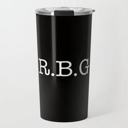 RBG - Ruth Bader Ginsburg Travel Mug