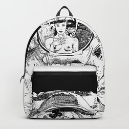 asc 333 - La rencontre rapprochée ( The close encounter) Backpack