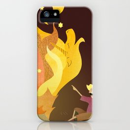 Campfire Magic iPhone Case