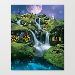 A View of the Water Canvas Print