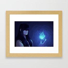 Bluefire Framed Art Print