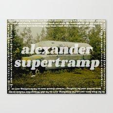 Supertramp Canvas Print
