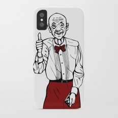 Waiter from Twin Peaks iPhone X Slim Case