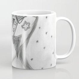 Starry Flapper in Black and White Coffee Mug