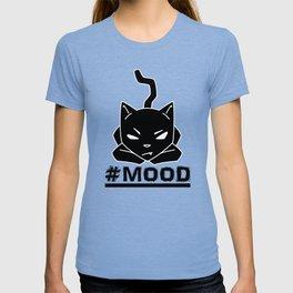 #MOOD Cat Black T-shirt