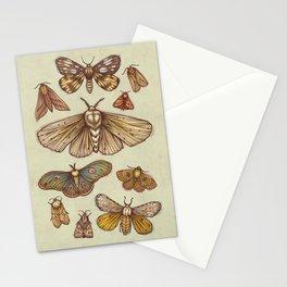 Moths Stationery Cards