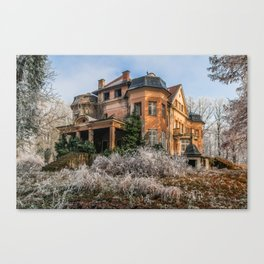 Abandoned castle Canvas Print