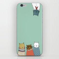 You crazy cat iPhone Skin