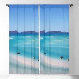 Australia Photography - Whitehaven Beach Blackout Curtain
