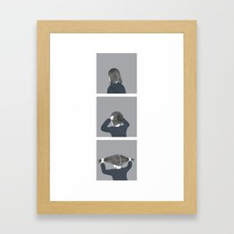 this is torturous Framed Art Print