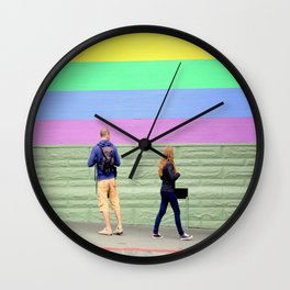 Just One Look Wall Clock