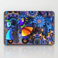 robots iPad Cases featuring Robots by aboutlaila