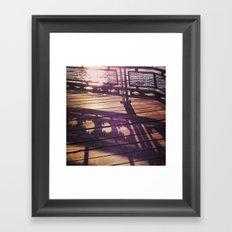 Riverside Park Framed Art Print