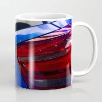 bmw Mugs featuring BMW M135i back by Mauricio Santana