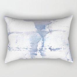 Smell of snow Rectangular Pillow