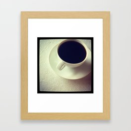 cup of jo(y) Framed Art Print