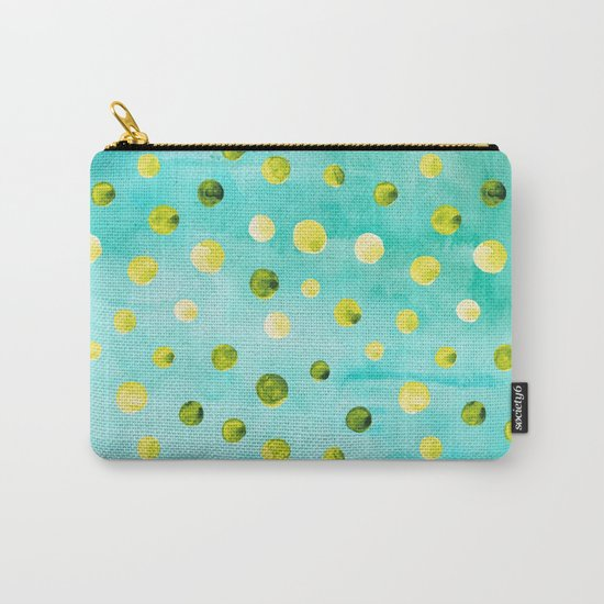 Polka Dot Pattern 07 Carry-All Pouch