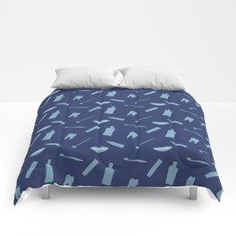 Dental Symbols Comforters