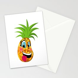 New School Pineapple (simple) Stationery Cards