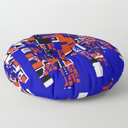 NES ROM GLITCH dh02 Floor Pillow