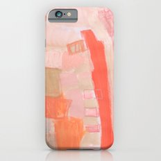 Peach and Feather iPhone 6s Slim Case