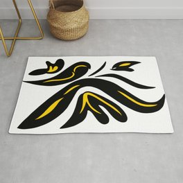 dancer butterfly Rug