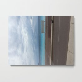 Shades of the sea in Nice (France) Metal Print
