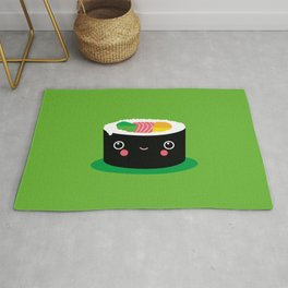 Kids Room Kawaii Maki – Illustration for the sleeping room of girls and boys Rug