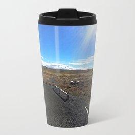 Rest Stop on Iceland's Golden Circle Panorama (1) Travel Mug