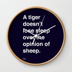 sheeple Wall Clock