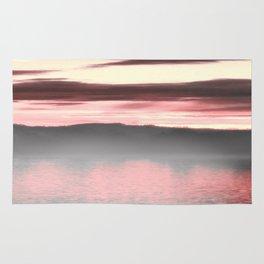 Sunset Passion//Foggy Danube Rug