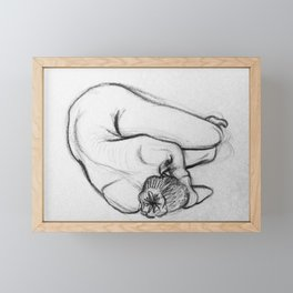 Fetal Framed Mini Art Print