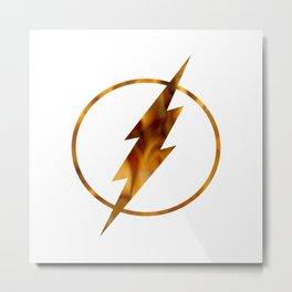 flash fire Metal Print
