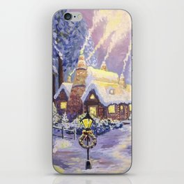 Warm Christmas iPhone Skin