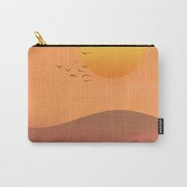 Desert Sunset landscape. Carry-All Pouch