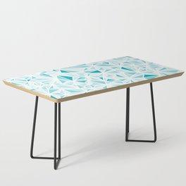 geo blue Coffee Table