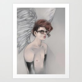 Postapo Angel Art Print
