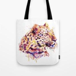 Leopard Head Tote Bag