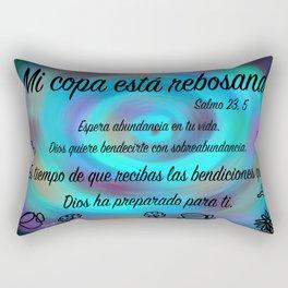 tazas twist - Salmo 23, 5 Rectangular Pillow