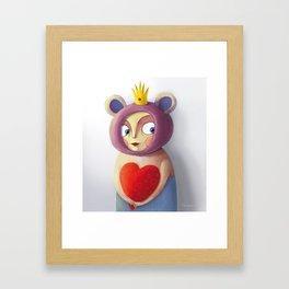 She Valentine Framed Art Print