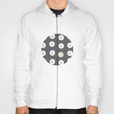 spot color ampersand Hoody