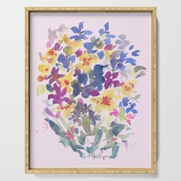 Wildflower Lovelies Serving Tray