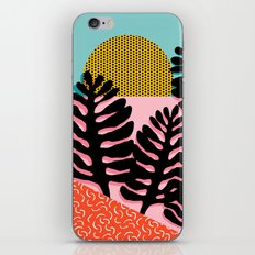 B.F.F. - throwback 80s style memphis design neon art print hipster brooklyn palm springs resort patt iPhone Skin