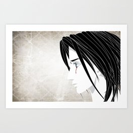 Angel's Eyes Art Print
