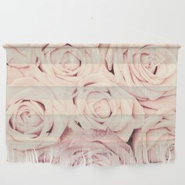 Some people grumble I Floral rose roses flowers pink Wall Hanging
