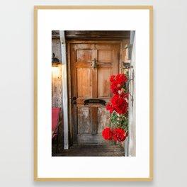 Coupeville Delivery Enterance Framed Art Print