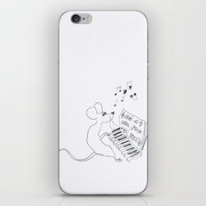 mouse pianist iPhone & iPod Skin