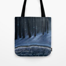 And Now My Watch Begins – Game Of Thrones Fan Art Tote Bag